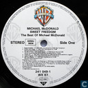 Disques vinyl et CD - McDonald, Michael - Sweet freedom