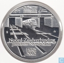 "Belgium 10 Euro (PROOF) 2002 ""50 Years North-South junction Brussels"""