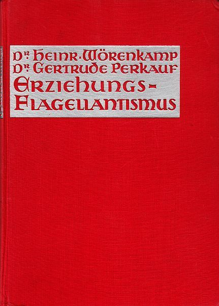 Erotica (Flagellation); Lot includes 2 German books - 1932