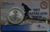 "Netherlands 5 euro 2010 (coincard - first day issue) ""Waterland"""