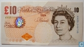 United Kingdom 10 pounds 2012 p-389d