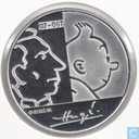 "Coins - Belgium - Belgium 20 euro 2007 (PROOF) ""100th birthday Hergé"""