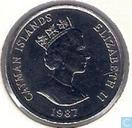 Cayman Islands 10 cents 1987