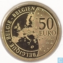 "Belgique 50 euro 2007 (BE) ""50 years Treaty of Rome"""