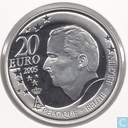 "België 20 euro 2005 (PROOF) ""2006 Football World Cup in Germany"""