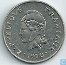New Caledonia 20 francs 1970