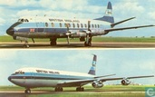 BMA - British Midland / Boeing 707 + Vickers Viscount