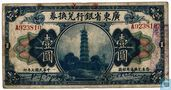 China Kwang Tung 1 dollar 1918