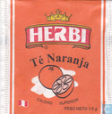 Tea bags and Tea labels - Herbi - Té Naranja