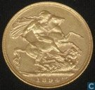 Australia 1 sovereign 1894 (S)