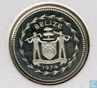"Belize 1 cent 1974 (PROOF) ""Avifauna of Belize - Swallow-tailed Kite"""