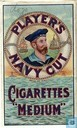 "Player's navy Cut Cigarettes ""medium"""