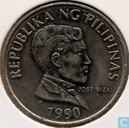 Philippines 1 piso 1990 (large lettering)