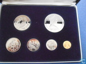 British Virgin Islands year set 1974 (PROOF)