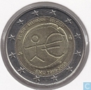 "België 2 euro 2009 ""10th Anniversary of the European Monetary Union"""