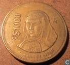 Mexique 1000 pesos 1991