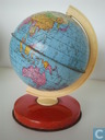 Retro blikken globe Chad Valley