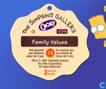 Caps and pogs - The Simpsons Gallery - The Family Values