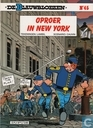 Strips - Blauwbloezen, De - Oproer in New York