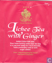 Lichee Tea with Ginger