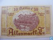 Altenmarkt an der Triesting 10 Heller 1920