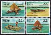 Traditional canoes and rafts