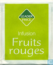 Infusion Fruit rouges