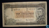 Australië 10 Shillings ND (1954-60)