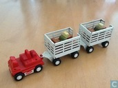 Model cars - Tonka - airport luggage trolley and cart