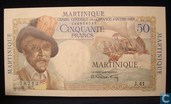 Martinique 50 Francs 1947-49