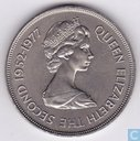 "St. Helena 25 pence 1977 ""25th Anniversary of the Coronation of Queen Elizabeth II"""