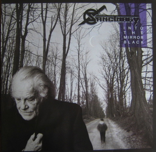 Sanctuary - LP Into The Mirror Black (CBS / Epic  465876 1) - 1990