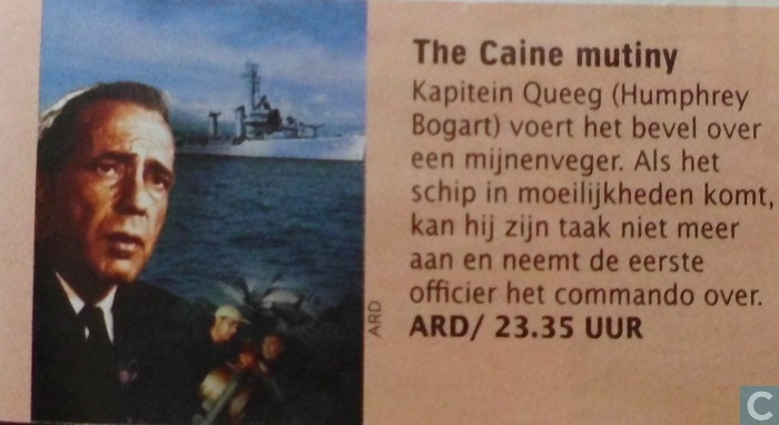 an analysis on the caine mutiny