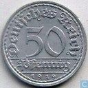 German Empire 50 pfenning 1919 (A - Weimar Republic)