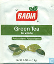 Green Tea  Té Verde