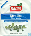 Mint Tea Té de Menta