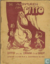 Bandes dessinées - Ditto - Ditto en de draak in de grot