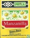 Tea bags and Tea labels - Pryca - Manzanilla