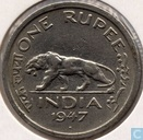 British India 1 rupee 1947 (Bombay)