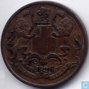 East India Company ¼ anna 1835 (Calcutta - valeur petit)