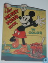 A new Mickey Mouse book to color
