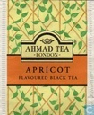 Tea bags and Tea labels - Ahmad Tea - Apricot