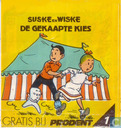 Comic Books - Willy and Wanda - De gekaapte kies