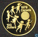 "Canada 100 dollars 1979 (PROOF) ""International Year of The Child"""