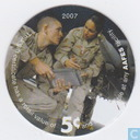 AAFES 5c 2007 Military Picture Pog Gift Certificate 10F51