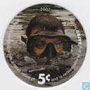 AAFES 5c 2007 Military Picture Pog Gift Certificate 10H51