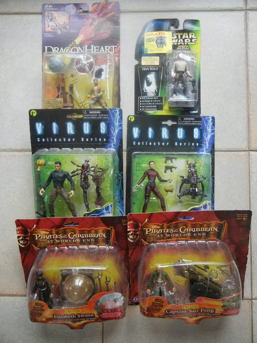 Action figures of film toppers new in box M I B  - Catawiki