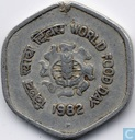 "Inde 20 paise 1982 (H) ""F.A.O"""