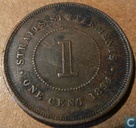 Straits Settlements 1 cent 1894