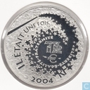 """1½ euro 2004 France (PROOF) """"fairy-tale characters 3rd Edition Aladdin"""""""